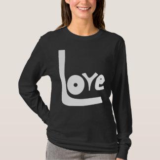 LaRueSkye: 愛Long-sleeved長袖シャツ Tシャツ