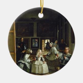 Las Meninasかフィリップの家族IV、c.1656 セラミックオーナメント