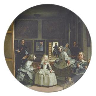 Las Meninasかフィリップの家族IV、c.1656 プレート