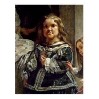 Las Meninasかフィリップの家族IV、c.1656 ポストカード