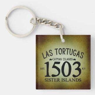 Las Tortugas米国東部標準時刻。 素朴な1503年 キーホルダー