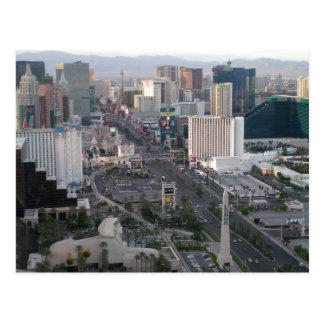 Las Vegas Boulevardのストリップ ポストカード