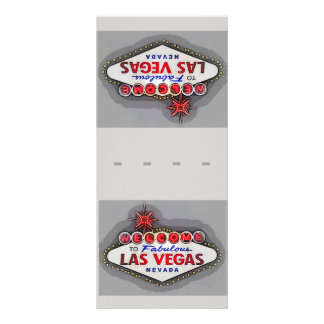 Las Vegas Place Setting Name Cards Silver ラックカード