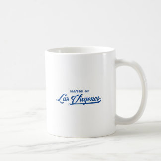 Las Virgenesへの歓迎 コーヒーマグカップ