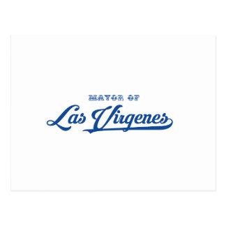 Las Virgenesへの歓迎 ポストカード