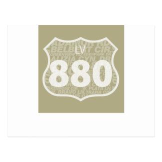 Las Virgenes -拡散するLV 880の白 ポストカード