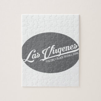 Las Virgenes -楕円形 ジグソーパズル