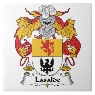 Lasaldeの家紋 タイル