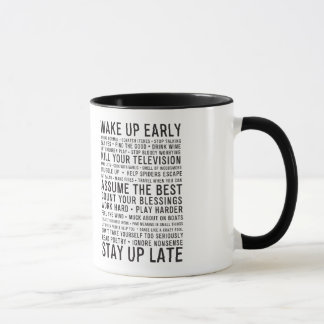 lastlemonの声明 マグカップ