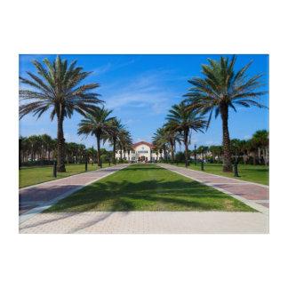 Lathamの広場、ジャクソンビルのビーチ、フロリダ アクリルウォールアート
