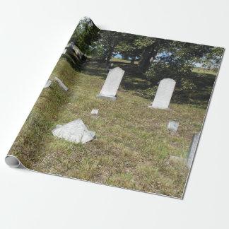 Lauadaの墓地の墓地の包装紙 ラッピングペーパー