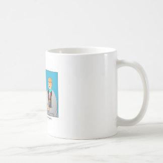 Laudeの大学院の漫画のマグ付きの相撲 コーヒーマグカップ