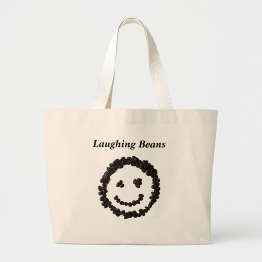 Laughing Beans トートバッグ ラージトートバッグ