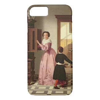 Laundryroom 1864年の姿(キャンバスの油) iPhone 8/7ケース