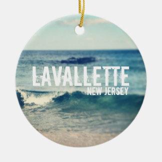 Lavallette- 2013年-海岸の回復 セラミックオーナメント