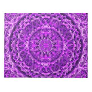 Lavanderの格子曼荼羅 ノートパッド