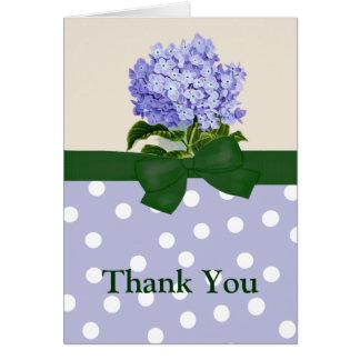 Lavendarのアジサイの挨拶状 カード