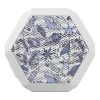 Lavendarの貝殻 ホワイトBluetoothスピーカー