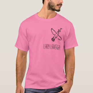 Lavender Tee女性 Tシャツ