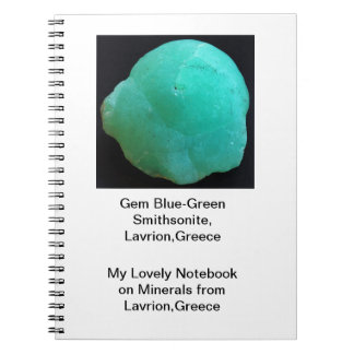 Lavrion、ギリシャからの鉱物のノート ノートブック