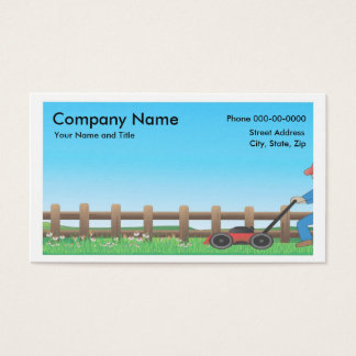 Lawncare BusinessCard 名刺