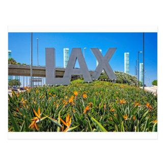 LAX空港印 葉書き