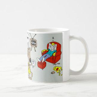 LazyDoggのコーヒーカップ コーヒーマグカップ