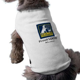 LDCRFの卒業生ペットワイシャツ ペット服