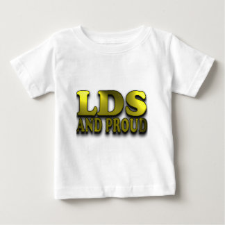 LDSおよび誇りを持った ベビーTシャツ