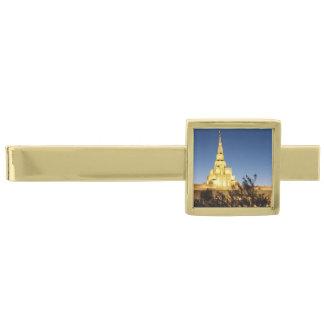 LDSの寺院のタイ・バー ゴールドネクタイピン
