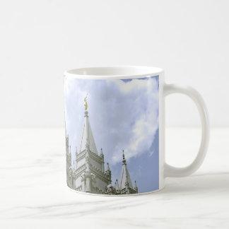 LDSの寺院のマグ コーヒーマグカップ