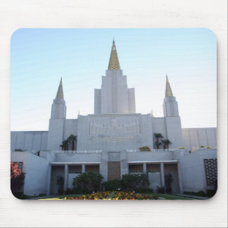LDSの寺院-オークランドのカリフォルニアのマウスパッド マウスパッド