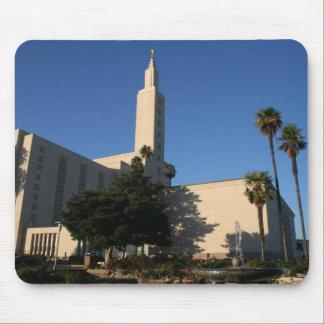 LDSの寺院-ロサンゼルス、カリフォルニア マウスパッド