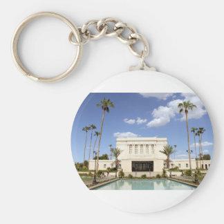 ldsメサアリゾナの寺院のモルモンの写真 キーホルダー