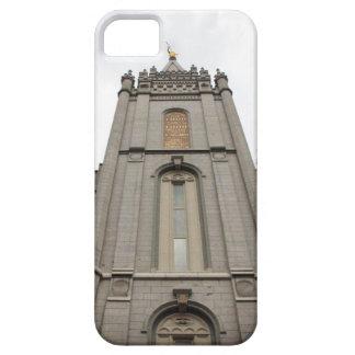 LDSモルモンのソルト・レーク・シティの寺院の写真 iPhone SE/5/5s ケース