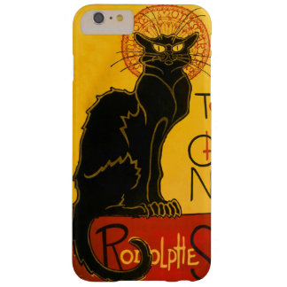 Le Chat Noir黒猫のアールヌーボーのヴィンテージ Barely There iPhone 6 Plus ケース
