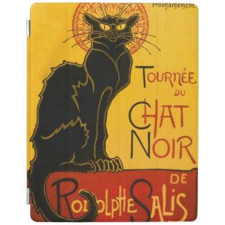 Le Chat Noir黒猫のアールヌーボーのヴィンテージ iPadスマートカバー