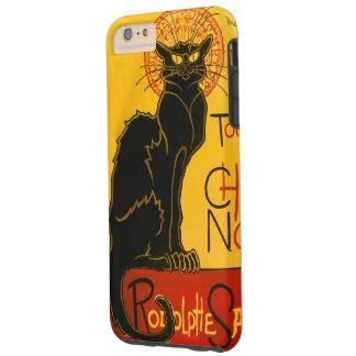 Le Chat Noir黒猫のアールヌーボーのヴィンテージ Tough iPhone 6 Plus ケース