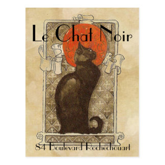 Le Chat Noir ポストカード