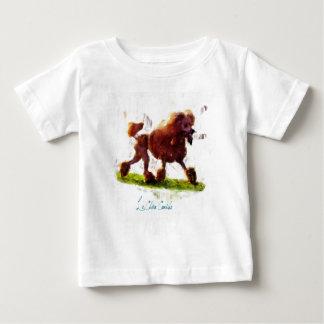Le Chien Caniche ベビーTシャツ