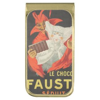Le Chocolat Fausta Seduit ゴールド マネークリップ
