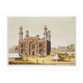 「Le CosからのMughal皇帝Akbarの墓、 ポストカード