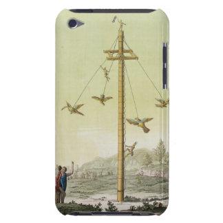 「Le Costume Ancienとモダンからの飛んでいるなゲーム、 Case-Mate iPod Touch ケース