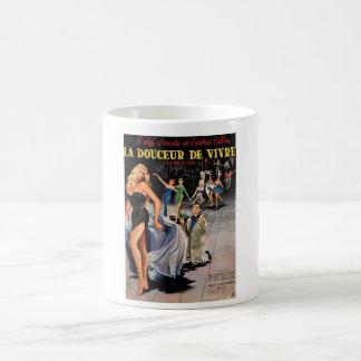 Le douceur deのvivre コーヒーマグカップ
