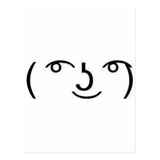 Le Lenny Face ポストカード