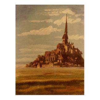 Le Mont聖者マイケル、ブリッタニー、フランス ポストカード