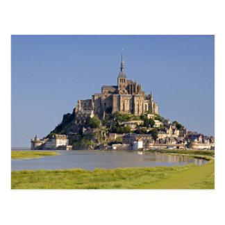 Le Mont Saintマイケルあたりの ポストカード