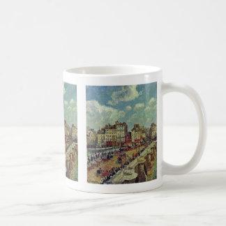 Le Pont-Neuf By Pissarroカミーユ コーヒーマグカップ
