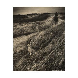 Le Rendez-vousのd'Aliceの不思議の国の芸術の写真 ウッドウォールアート