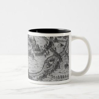 Le Sette Chiesaのディディミアムローマ1575年 ツートーンマグカップ